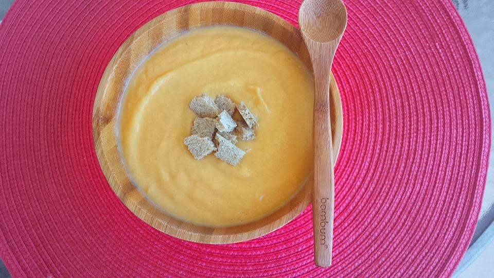 крем супа с пилешко