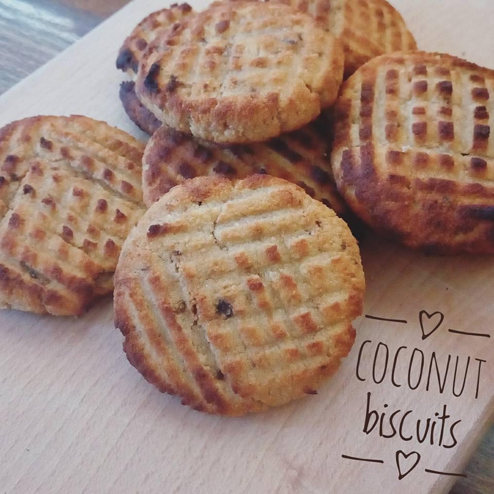 Кокосови бисквитки