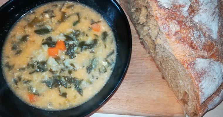 Супа от лапад и спанак