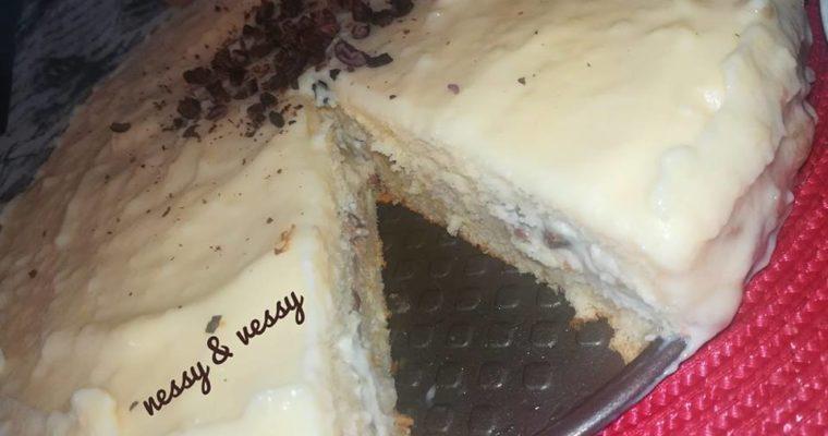 Пандишпанова торта с два вида крем